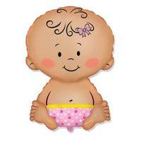 Фольгированная Малышка
