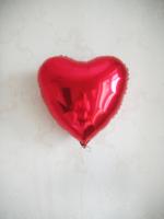 """Фольгированное сердце """"Красное"""""""
