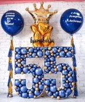 Шикарный набор из шаров на Юбилей