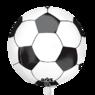 Фольгированная 3D сфера Футбольный мяч