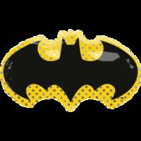 Фольгированная эмблема Бэтмен Летучая мышь