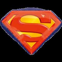 Фольгированная эмблема Супермена