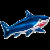 Фольгированная фигура Большая синяя Акула