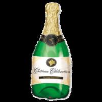 Фольгированная фигура Бутылка шампанского