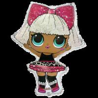 Фольгированная фигура кукла LOL - DIVA