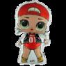 Фольгированная фигура кукла LOL - MC SWAG