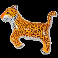 Фольгированная фигура Леопард