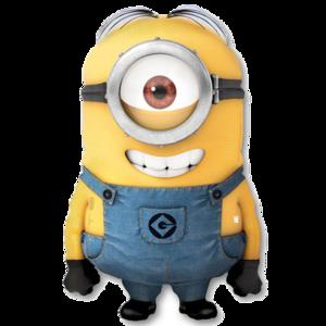 """Фольгированная фигура Миньона """"Дэйв"""" или """"Стюарт"""""""