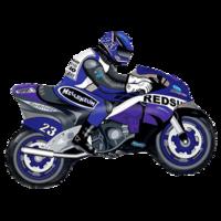 Фольгированная фигура Мотоциклист