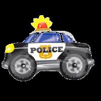 Фольгированная фигура Полицейская машина