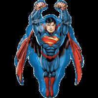 """Фольгированная фигура """"Супермен"""" летящий"""