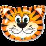 Фольгированная фигура Тигрёнок