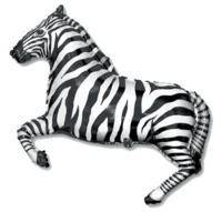 Фольгированная фигура Зебра