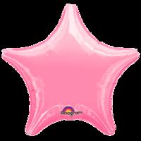 Фольгированная звезда Металлик Лавандовая