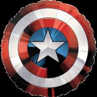 Фольгированный щит Капитана Америки